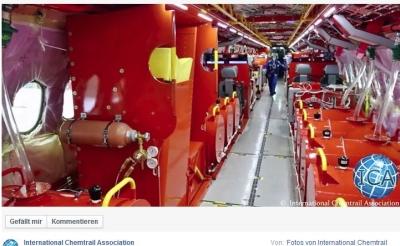 Ballasttanks in Flight Test Vehicules (FTV) der CSeries von Bombardier