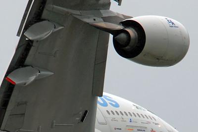 Triebwerk des A380