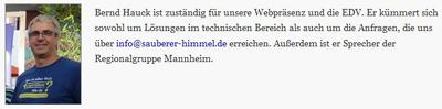 Bernd Hauck wendet Nazi-Methoden an
