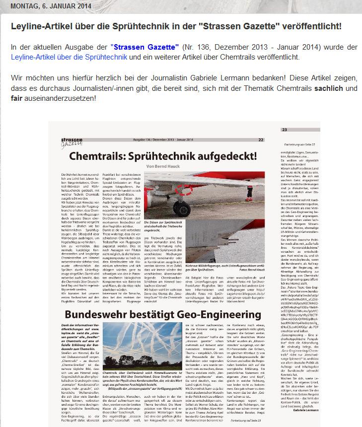 Strassen Gazette verbreitet Lügen.