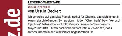 Auftragsschreiberin Ursula Becker folgt dem Aufruf.