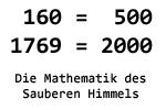 Die Mathematik des Sauberen Himmels