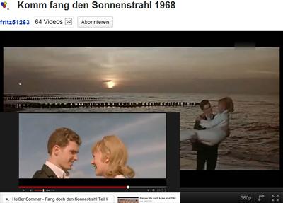Video von 1968 mit verschmiertem Himmel