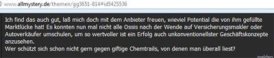 Chemtrail-Gläubige = Ossis?