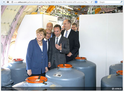 Angela Merkel zur ILA