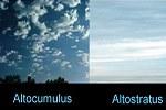 Wolkenatlas mit chemischen Wolken