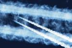 Warum haben zwei Flugzeuge auf gleicher Höhe unterschiedlich lange Kondensstreifen?