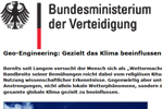 Hat die Bundeswehr Geo-Engineering bestätigt?