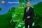Wurden in einem Wetterbericht im ZDF Chemtrails genannt?
