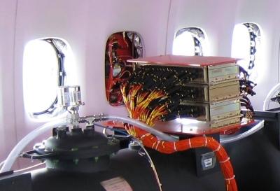 Messeinrichtungen für die Flugerprobung, Boeing 747-8 N6067E