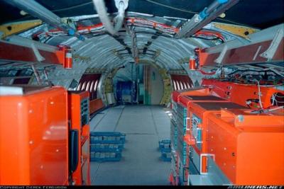 Instrumentenracks und Ballasttank BAe-146 (G-LUXE)