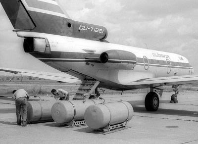 Zusatztanks für Transatlantikflüge