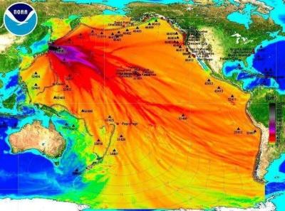 Strahlenbelastung durch den Tsunami?