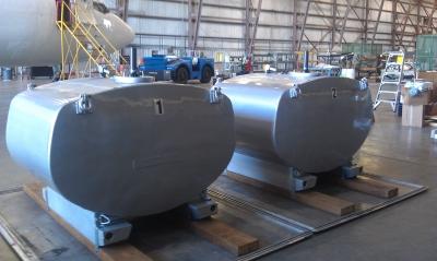 Entwicklung eines 737-Frachter-Sprühsystems für Dispergiermittel