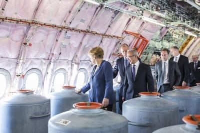 Angela Merkel zur ILA 2014