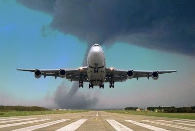 Tornado on final approach