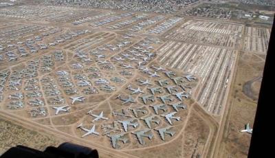 Flugzeugfriedhof bei Tucson, Arizona