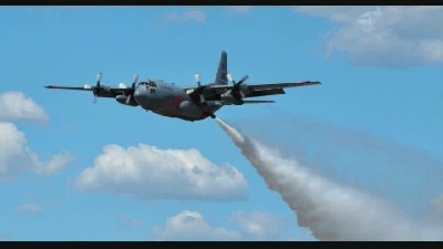 Modular Airborne Fire Fighting Systems (MAFFS) an C-130