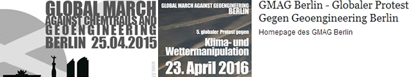 Global March Against Chemtrails And Geoengineering