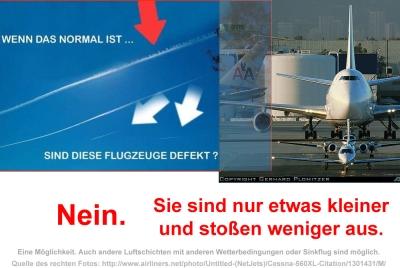Defekte Flugzeuge?