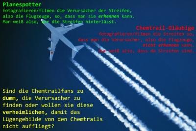 Planespotter und Chemtrailfans