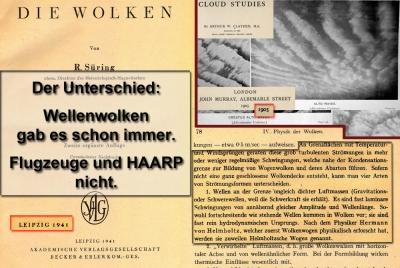 Wellenwolken 1905 und 1941